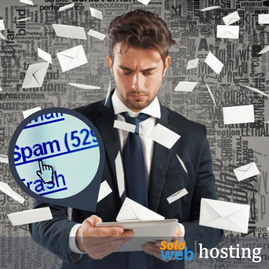 como detener el spam