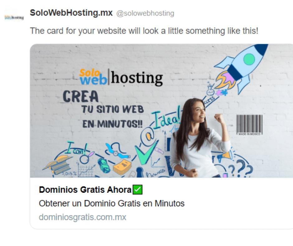 Meta Tags Social Dominios Gratis