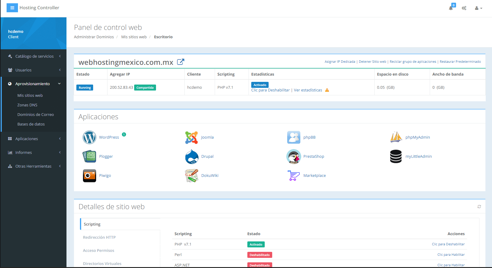 Instalador de Wordpress